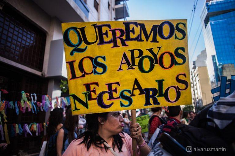 """""""Queremos los apoyos necesarios"""" Marcha por el Derecho a la Salud Mental - 2019"""